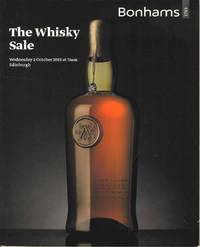 The Whisky Sale.  Wednesday 2 October 2013 at 11am Edinburgh
