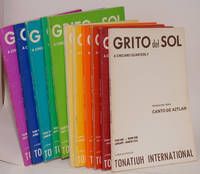 Grito del sol; a Chicano quarterly, year one - book one, January-March, 1976 through year three -book four, October-December, 1978