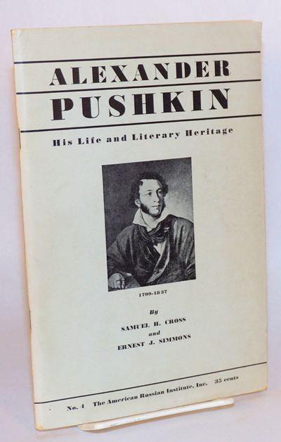 San Francisco: American Russian Institute, 1937. 79p., wraps, illus. Special Publication #4.