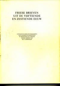 Friese brieven uit de vijftiende en zestiende eeuw