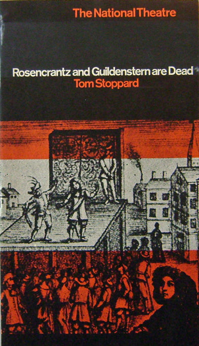 London: The National Theatre, 1969. First edition. Paperback. Very Good +. Tall narrow 8vo. Printed ...