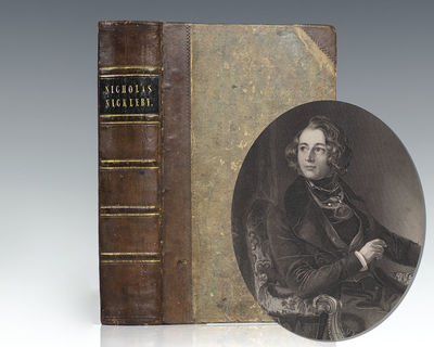 London: Chapman and Hall, 1839. First edition in book form of one of Dickens' most popular novels. O...