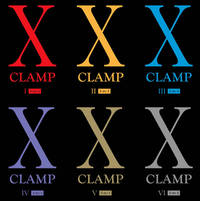X MANGA Series by Clamp - Collection 1-6 (3 in 1) Compendiums! by Clamp by Clamp