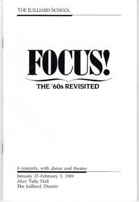 image of Focus! The '60s Revisited [CONCERT SERIES BOOKLET]