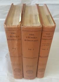 THE VALMIKI RAMAYANA [VOLUMES 1-3 ONLY]