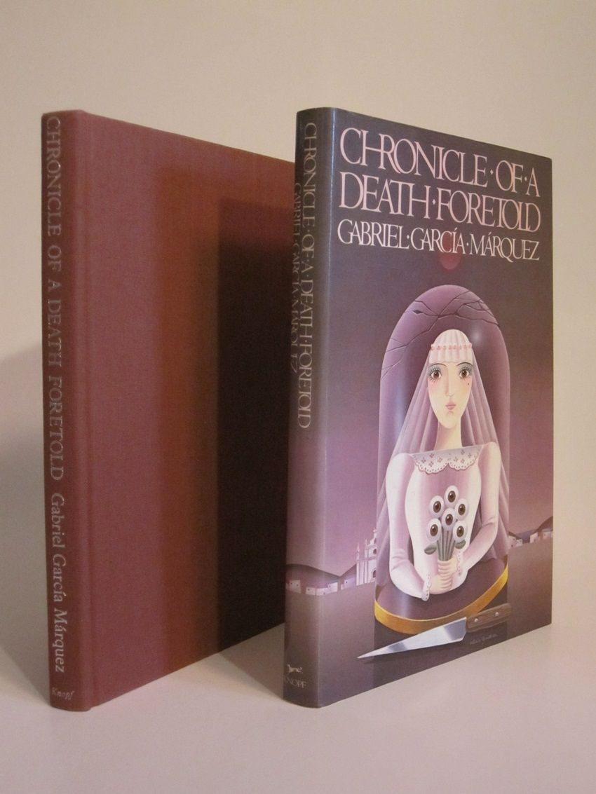 chronicles of a death foretold Example reflective statement – chronicle of a death foretold  social expectations and obligations play a role of paramount influence in marquez's chronicle of a death foretold.