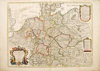 L'ALLEMAGNE,  dresse sur les Observations de Tycho Brahe, de Kepler, de Snellius..... by  & Philippe BUACHE  Guillaume - 1788 - from Peter Harrington (SKU: 52803)
