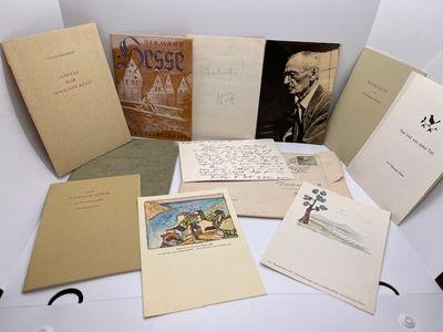 """HERMAN HESSE archive """"correspondence""""..."""