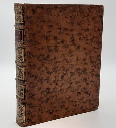 Paris. : Piget., 1739 . Contemporary full mottled calf, raised bands, gilt spine decorations, red sp...