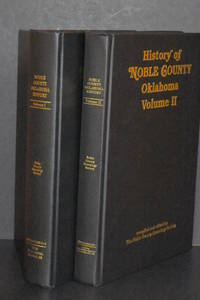 image of History of Noble County Oklahoma Volume I and II