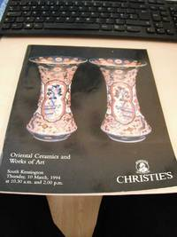 Oriental Ceramics and Works of Art, March 1994