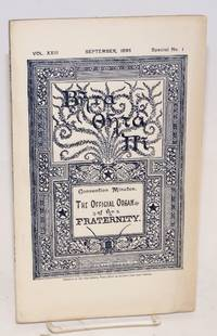Beta theta pi,; convention minutes; the official organ of the fraternity vol. xxiii, September 1895, special no. 1 [cover titling] The beta theta pi with which has been united The mystic messenger [title page]