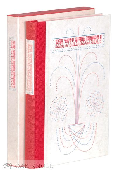 New York: The Limited Editions Club, 1972. cloth-backed boards, paper spine label, slipcase. Limited...