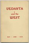 Vedanta and the West - May-June 1950, Vol. XIII, No. 3