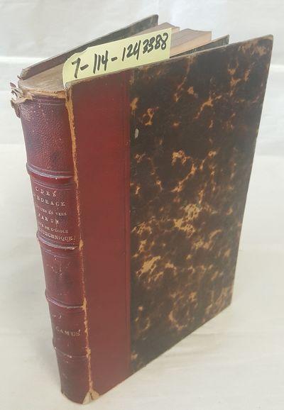 Paris: Librairie Classique de L. Hatchette, 1835. Hardcover. Octavo; good-/none; red cloth spine wit...