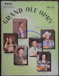 A Grand Ole Opry Program Signed By Dozens Of The Stars Of The Early 1960s On Their Photographs