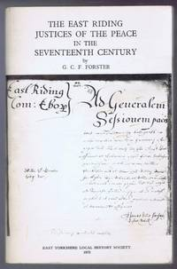 The East Riding Justices of the Peace in the Seventeenth Century