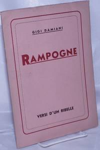 image of Rampogne: Versi d'un ribelle