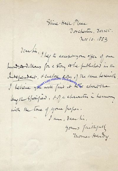 THOMAS HARDY (1840-1928). Hardy was a British poet and writer; he is best known for works such as Fa...