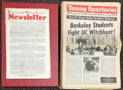 New York: Spartacus Youth League, 1986. Complete run of the 134 issues published of the newsletter/n...