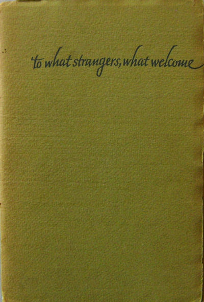 Denver: Alan Swallow, 1964. First edition. Paperback. Very Good. Small 8vo. 15 pp. Folded signatures...