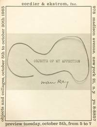 Oversized Announcement Card for Man Ray: Objects of my Affection
