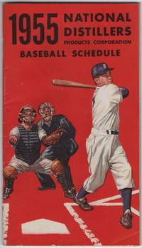 image of 1955 National Distillers Products Corporation Baseball Schedule