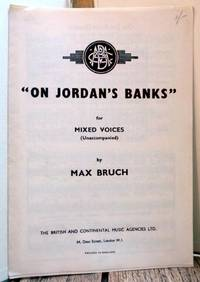 """On Jordan's Banks"" for Mixed Voices (Unaccompanied)"