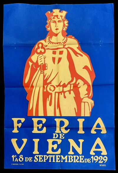 Poster Commemorating the Vienna Fair...