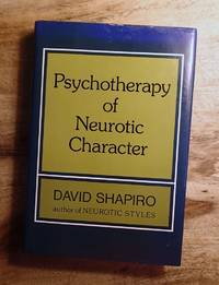 image of Psychotherapy Of Neurotic Character