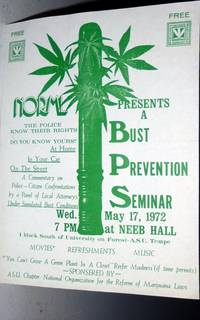 image of NORMAL Presents a Bust Prevention Seminar, Wed. May 17, 1972