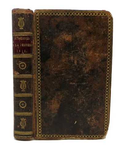 Paris: Demonville, 1811. Contemporary full calf with maroon spine label. Marbled eps. VG (front join...