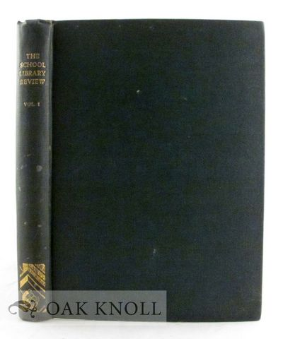 Volume I complete. Sharnbrook: Paule de Lépervanche, 1938. cloth. tall 8vo. cloth. (iv), 252 pages....
