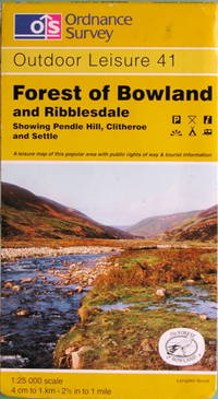Forest of Bowland and Ribblesdale by Ordnance Survey - 1:25,000 Outdoor Leisure series no. 41 - 1996 - from Acanthophyllum Books and Biblio.com