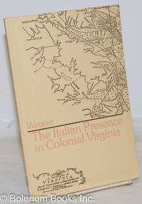 image of The Italian Presence in Colonial Virginia