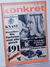 image of Konkret, 1965, Jan, No. 1 Unabhängige Zeitschrift Für Kulture und Politik