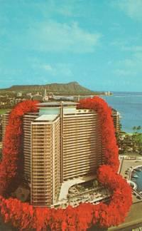 Ilikai on Waikiki Yacht Harbor, Hawaii unused Postcard