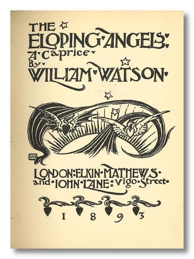 London: Elkin Mathews and John Lane, 1893. Polished black buckram, stamped in gilt, t.e.g. Pictorial...