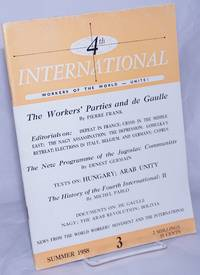 4th International [1958, Summer, No. 3] Workers of the World Unite