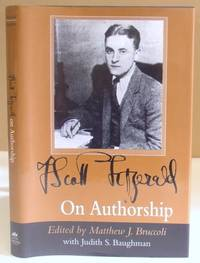 F Scott Fitzgerald On Authorship