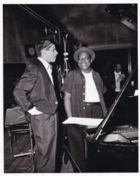 image of Cinderfella (Original photograph of Jerry Lewis and Count Basie on the set of the 1960 film)