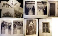 C. 1890s Group of Gravure Architectural Studies of the Ornamental Columns & Building Details of St. Mark's Basilica Venice