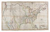 View Image 1 of 2 for Map of the United States with the contiguous British and Spanish Possessions Compiled from the lates... Inventory #36291