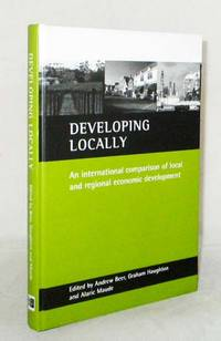image of Developing Locally.  An international comparison of local and regional economic development