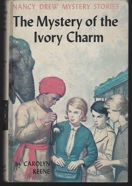 MYSTERY OF THE IVORY CHARM, Keene, Carolyn