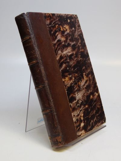 Paris: Bailliere, 1865. First Edition. hardcover. 3-400pp (lacks the half title). 8vo, contemporary ...