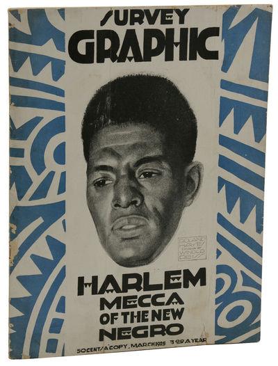 "Survey Graphic, March 1925: ""Harlem,..."
