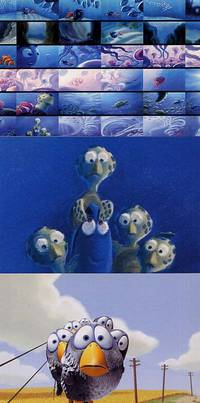 image of The Art of Pixar. 100 Collectible Postcards
