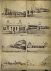 10 Carte de Visite photos of Bathurst New South Wales, and 2 stereoscopic views of Elmira, NY