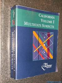 California Volume I Multistate Subjects